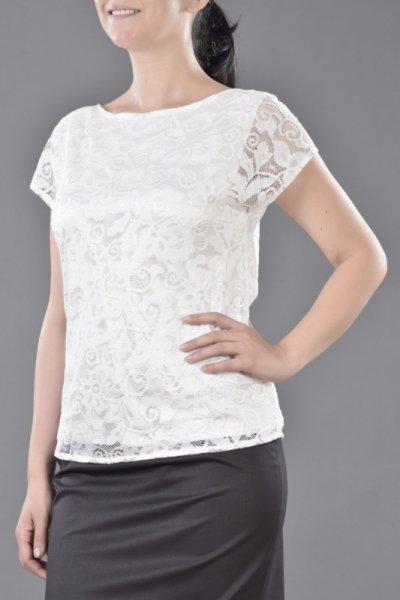 Елегантна вталена блуза