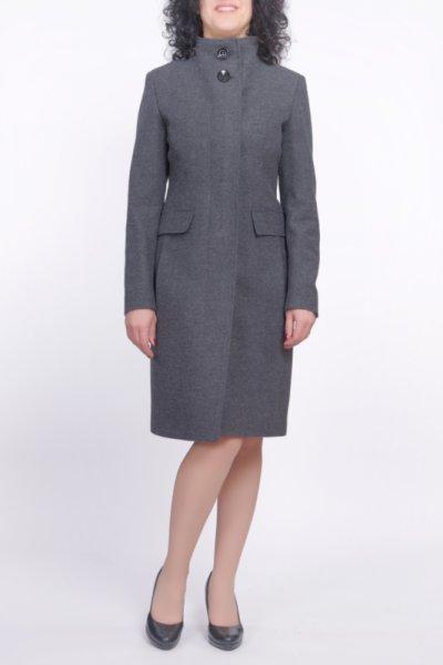 Вталено елегантно палто със скрито закопчаване