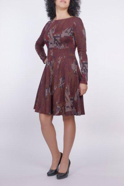 Разкроена рокля от трикотажен жакард