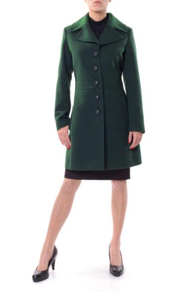 Вталено палто с колан на талията