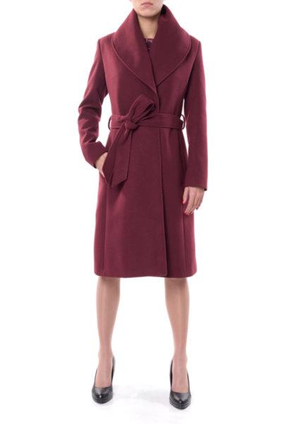Женствено палто с подвижен шал