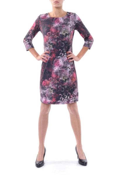 Ретро рокля със 7/8-ми ръкав