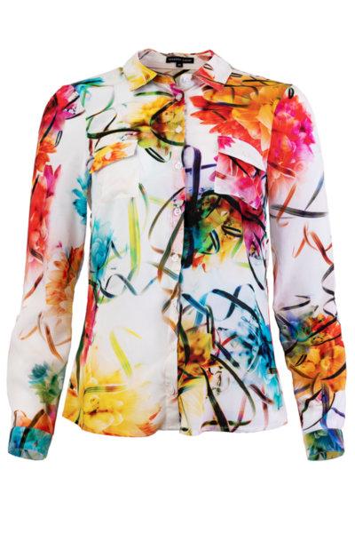 Удължена дамска риза-туника