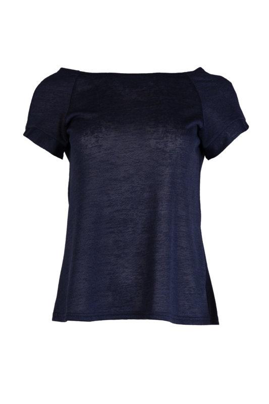 """Дамска блуза от финно плетиво, реглан ръкав и деколте тип """"лодка""""-Copy"""