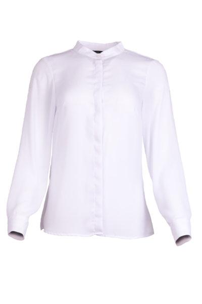 Класическа риза със столче яка