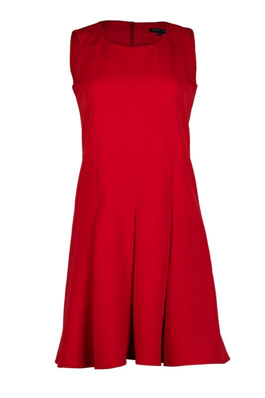 Дамска рокля без ръкав с разкроена долна част-Copy