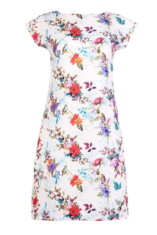 Ретро рокля с джобове и малка поло яка-Copy