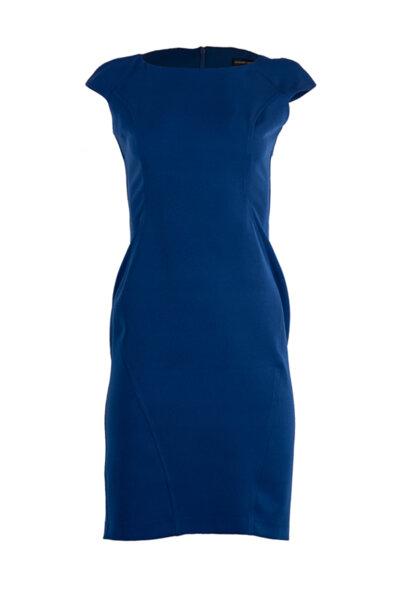Дамска рокля с цепка в задната част