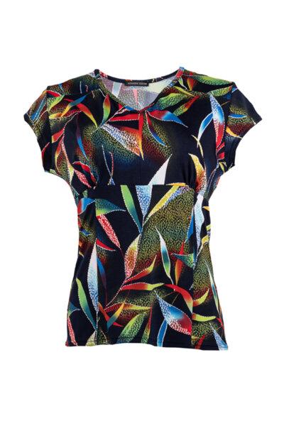 Тиркотажна дамска блуза