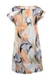 Дамска рокля от сатениран шифон-Copy