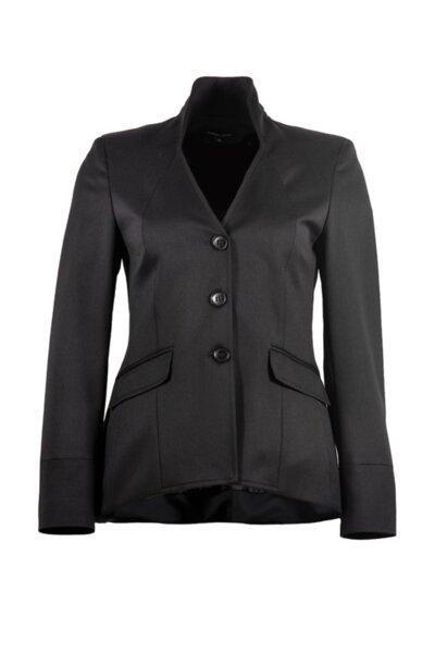 Вталено дамско сако с три копчета