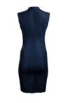 Вталена женствена рокля в бизнес стил