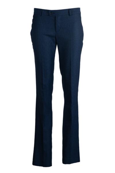 Тесен панталон с прав силует