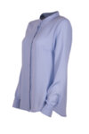 Класическа риза, със столче яка