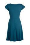 Вталена рокля със срязване в талията
