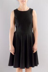 Разкроена трикотажна рокля
