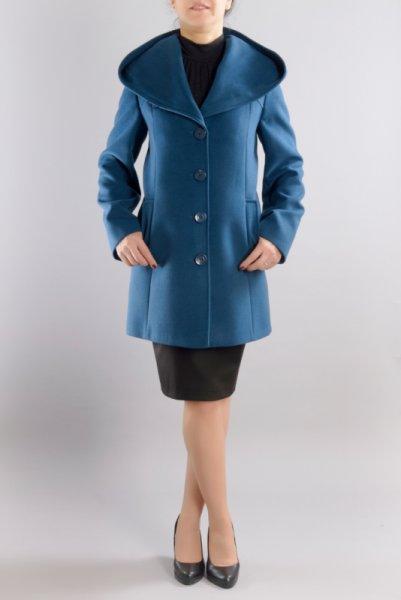 Дамско палто с трапецовиден силует