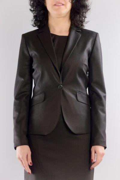 Класическо вталено сако