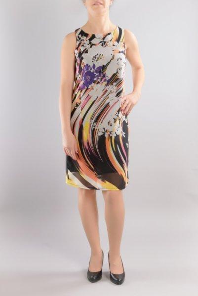 Ретро рокля шифон