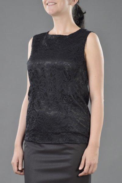 Елегантна блуза без ръкави