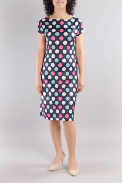 Трикотажна права рокля