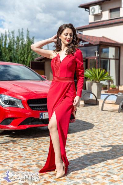 Официална рокля LORENA червена