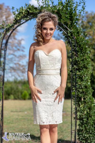 Дамска рокля VERA бяла