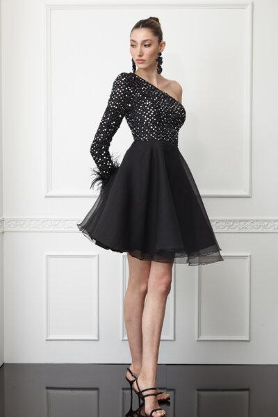 Пайетена рокля Miranda