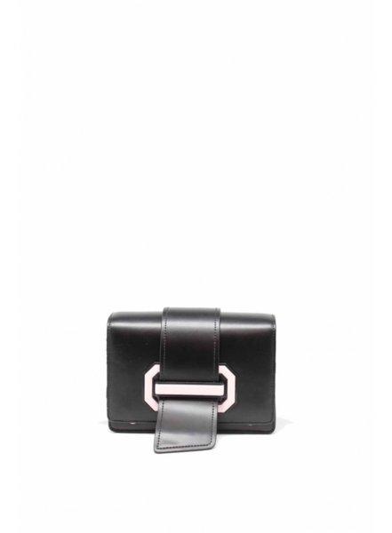 Дамска малка черна чанта Tom & Eva