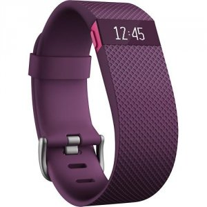 Fitness band Fitbit CHARGE HR PLUM S FB405PMS