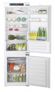 Built-in Bottom mounted Refrigerator Hotpoint-Ariston BCB 7030 EC AA