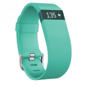 Fitness band Fitbit CHARGE HR TEAL S FB405TES