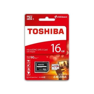 Memory card Toshiba MICRO SD 16GB CLASS 10 UHS-I 90MB