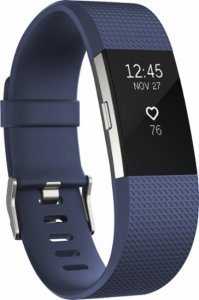 Fitness band Fitbit CHARGE 2 BLUE SILVER L FB407SBUL