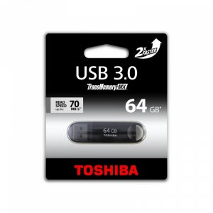 USB flash memory Toshiba SUZAKU 64GB USB 3.0 BLACK