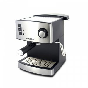 Electric Coffee Maker Finlux FEM-1690  IMPRESSION SILVER