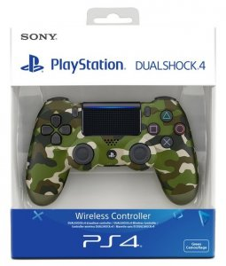 Gamepad Sony PS4 DUALSHOCK 4 CONT GREEN CAMO