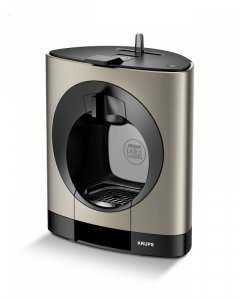 Electric Coffee Maker NESCAFE®  Dolce Gusto® KP110T31 OBLO TITANIUM