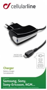 Charger Cellularline 220V MICROUSB ЗА NOKIA/LG/MOTOROLA