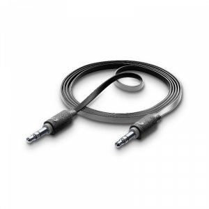 Cable Cellularline СТЕРЕО JACK M-M 3.5MM 1М ЧЕРЕН