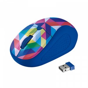 Mouse Trust PRIMO GEOMETRY blue