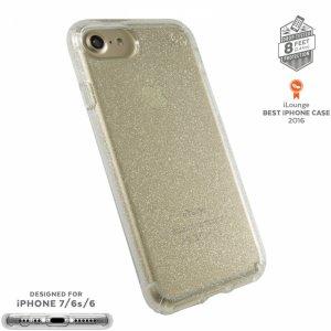 Smartphone case Speck IPHONE 7 PRESIDIO GOLDGLITTER 79989-5636