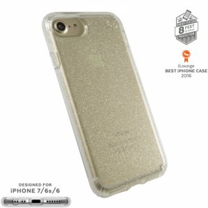 Smartphone case Speck IPHONE 7 PRESIDIO GOLDGLITTER 79989-5636