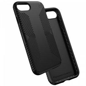 Smartphone case Speck IPHONE 7 PRESIDIO GRIP BLACK 79987-1050