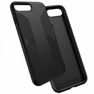Smartphone case Speck iPhone 7 Plus Grip Black 79981-1050