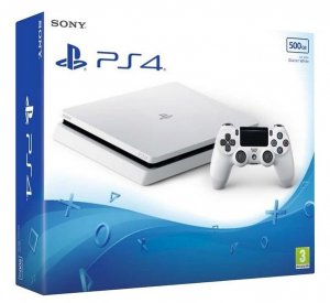 Console Sony PS4 500GB D CHASSIS WHITE
