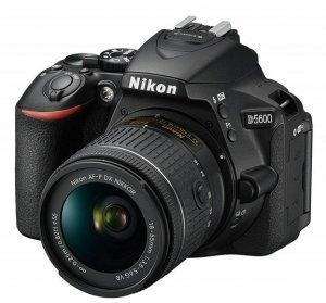 Camera Nikon D-5600 + AF-P 18-55VR