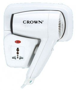 Hair Dryer Crown CHD-1201 WS