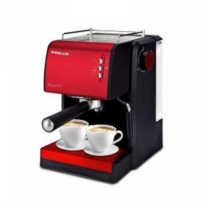 Electric Coffee Maker Finlux FEM-1691 IMPRESSION RED