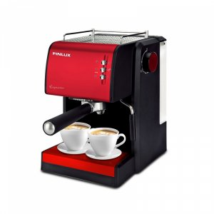 Electric Coffee Maker Finlux FEM-1691 IMPRESSION RED